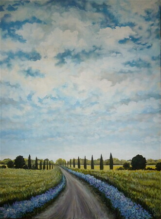 3'x4' Country Road, Take Me Home