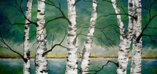 The Dancing Birch