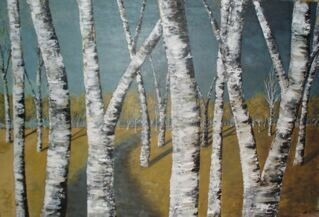 The Surreal Birch